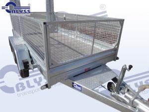 Laubgitter für Baumaschinentransporter h= 80 cm ( nur werksseitig möglich)