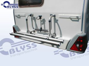 Fahrradträger für 2 Fahrräder, System Thule