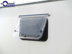Fenster 800x500mm mit Kombi-Rollos