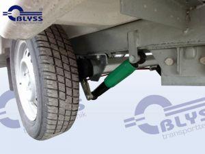 Stoßdämpferfahrwerk werkseitig ausgerüstet inkl. 100 kmh- Eintragung