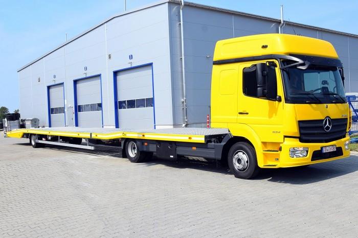 Zugfahrzeuge ab 7,5 t mit Einzelplateau+ Anhänger EP12Z