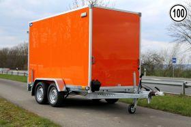 <strong>F2030HTD orange</strong> Kofferanhänger