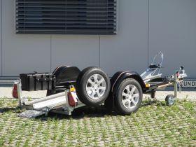 <strong>MOTORRADANHÄNGER SPEED 175 in SCHWARZ</strong>