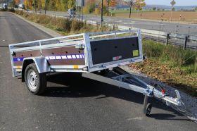 <strong>BL752412 Holz</strong> Kippbarer PKW Anhänger