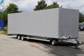 <strong>Multimax mit Hochplane</strong> Fahrzeugtransporter