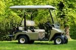 Melex Typ 943: Gutes Fahrgefühl auch in Parkanlagen oder auf Grünflächen.