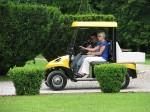 Melex Typ N.CAR 345: Leiser Motor und emissionfreier Antrieb machen Freude beim Fahren!