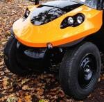 Melex Typ N.CAR 395: Gutes Fahrgefühl auf jedem Gelände.