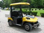 Melex Typ N.CAR 345: Flotte 30 km/h schnell und ca. 80 km Reichweite.