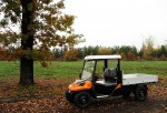 Melex Typ N.CAR 395: Ideales Transportfahrzeug für Baumschulen, Gärtnereien oder Bauunternehmen.