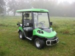 Melex Typ N.CAR 343: Auch ideal für Park und Grünanlagen.