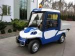Melex Typ N.CAR 381 Ideales Transportfahrzeug für Baumschulen, Gärtnereien und Bauunternehmen.