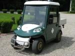 Melex Typ N.CAR 345: Kabinentüren schützen das Fahrerraum noch mehr!