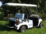 Melex Typ 943: stabiler Fahrzeugbau und modernste Technik.