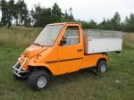 Melex Typ 960: Gutes Fahrgefühl auch auf Grünflächen und anderem Gelände!