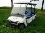 Melex Typ 966 Emissionsfrei und mit leisem Motor werden Ihre Gäste die Fahrt genießen!