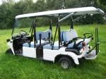 Melex Typ 966 - Ideal für Freizeitparks, Hotel- und Parkanlagen.
