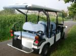 Melex Typ 966: Gutes Fahrgehühl auch auf Grünflächen und anderem offenen Gelände.