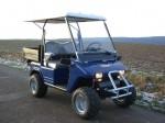 Melex Typ XTR 565: Elektro-Gepäckfahrzeug, Nutzlast: 250 kg.