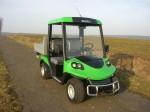 Melex Typ N.CAR 385: Starker Antrieb, Höchstgeschwindigkeit ca. 32 km/h.