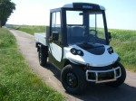 Melex Typ N.CAR 391: Ideal für Baumschulen, Gärtnereien, Bauunternehmen, Hausmeisterservices oder Logistiker auf Unternehmensgeländen, Flughäfen oder Bahnhöfen.