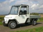 Melex Typ N.CAR 392: Ideal für Baumschulen, Gärtnereien, Bauunternehmen und Logistikern auf Unternehmensgeländen, Bahnhöfen, Flughäfen.