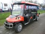 Melex Typ N.CAR 378: Starker Motor, starke Leistung - Höchstgeschwindigkeit bei ca. 25 km/h.