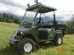Melex Typ XTR 565: Ideal für Park- und Freizeitanlagen, Baumschulen, Gärtnereien und Bauunternehmen.