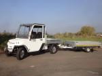 Meley Typ N.CAR 392: Mit der optionalen Anhängekupplung kann er problemlos Anhänger und Wohnwagen ziehen.