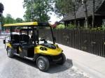 Melex Typ N.CAR 366: Straßenzulassung auf Anfrage.
