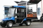 Melex Typ N.CAR 385 mit Kaffeebar.