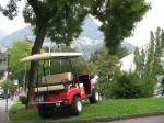 Melex Typ XTR 563: Ideal auch für Parkanlagen und Grünflächen.