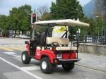 Melex Typ XTR 563: Serienmäßig mit Straßenzulassung.