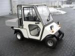Melex Typ 252: Ideal in Hotel- oder Parkanlagen, auf Grünflächen oder Friedhöfen.
