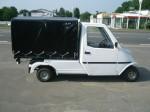 Melex Typ 961: Stabiler Fahrzeugbau mit innovativer Antriebstechnik.