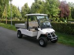 Melex XTR+ 965: Stabiles Fahrgestell mit innovativer Antriebstechnik.