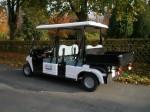 Melex Typ 963: Ideal in Hotel- oder Parkanlagen, auf Grünflächen oder Friedhöfen.