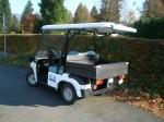 Melex Typ 945: Auch mit 3,9 kW, 48 V Motor erhältlich.