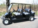 Melex Typ XTR+ 964: Mit leisem Motor und emissionsfrei werden Ihre Gäste die Fahrt genießen!