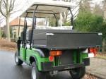 Melex Typ XTR 962 mit zusätzlicher Ladefläche: Nutzlast 250 kg