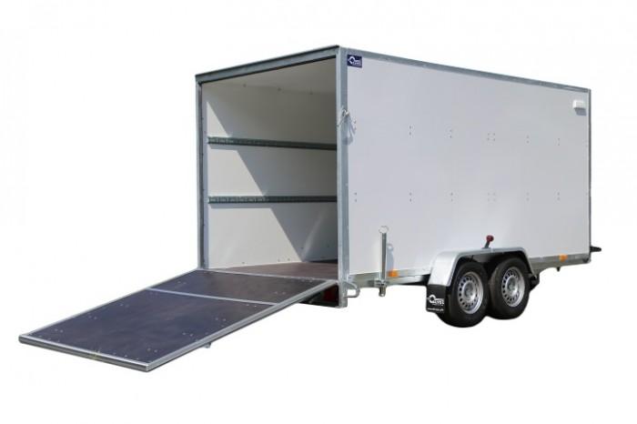 L - 2700 kg Koffer mit Heckklappe